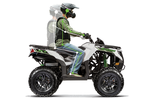 ALTERRA 1000 TRV XT T3 ARCTIC CAT full