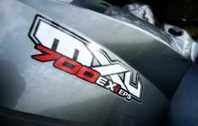 MXU 700 i EX EPS EURO4 L7e full
