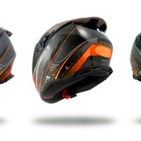 CASQUE INTEGRAL FIBRE R1 QUADS MOTOS SCOOTERS P5