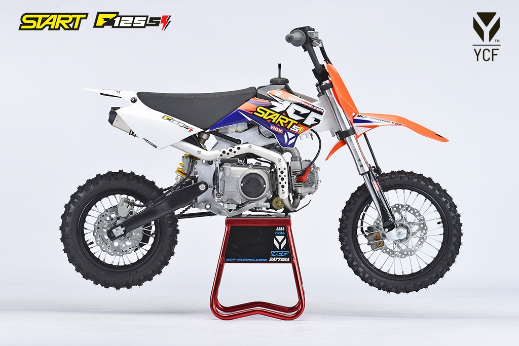 ycf start f125se r1 quads motos scooters. Black Bedroom Furniture Sets. Home Design Ideas