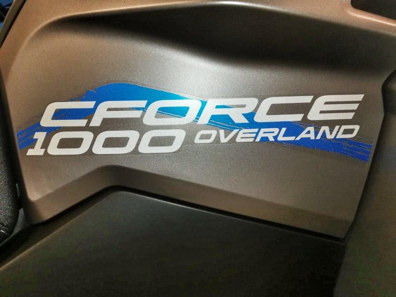 CFORCE 1000 OVERLAND T3 EPS full